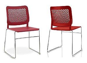 Cadeira Empilhável Plástico