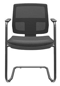 Cadeira BRIZZA Tela Aproximação Base preta