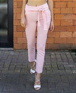Calça Skinny em Alfaiataria - Rosa