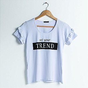 T-Shirt Viscolycra - Branca