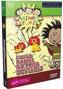 DVD Histórias da Bíblia Carinhas Legais - Daniel na Cova dos Leões