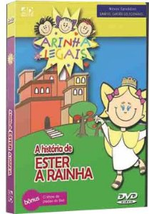 DVD Histórias da Bíblia Carinhas Legais - Ester