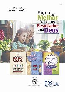 COMBO ESPECIAL| MENINAS CRISTÃS - COM 3 LIVROS