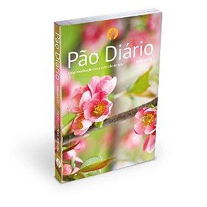 Pão Diário 2019 vol 22 capa Flores