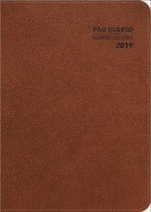 AGENDA EXECUTIVA 2019 Pão Diário - MARROM