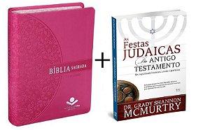 COMBO - BÍBLIA SAGRADA LETRA GIGANTE + FESTAS JUDAICAS
