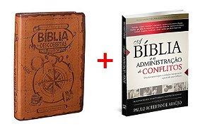 COMBO BÍBLIA DESCOBERTAS PARA ADOLESCENTES + LIVRO A BÍBLIA E A ADMINISTRAÇÂO DE CONFLITOS