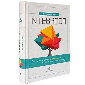 BÍBLIA DE ESTUDOS INTEGRADA CRONOLÓGICA | CAPA DURA