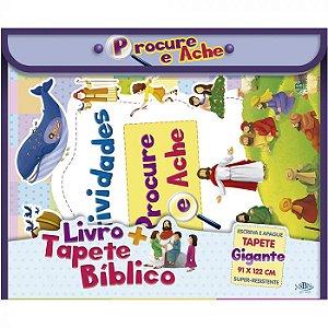 Livro+Tapete Bíblico: Procure e Ache