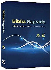 BIBLIA NVI BROCHURA CAPA AZUL E VERDE