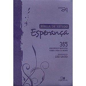 BÍBLIA DE ESTUDO ESPERANÇA  SEC. 21