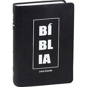 BÍBLIA SAGRADA LETRA GRANDE NTLH Preta