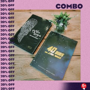 COMBO- BIBLIA FACIL DE ENTENDER NTLH + 40 DIAS COM STAR WARS