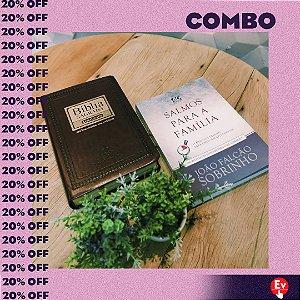 COMBO | BÍBLIA + DEVOCIONAL SALMOS PARA A FAMÍLIA