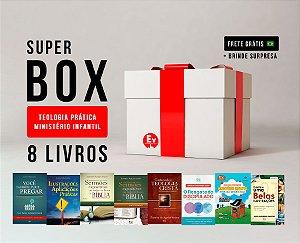 SUPER BOX TEOLOGIA PRÁTICA MINISTÉRIO INFANTIL | 8 LIVROS by Caroline Vargas