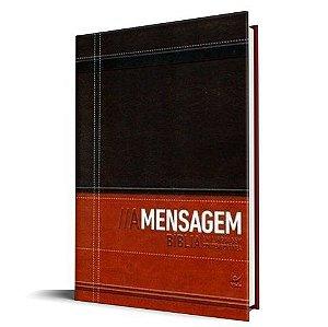 Biblia A Mensagem Luxo marrom