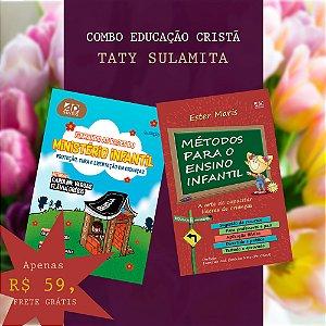 COMBO EDUCAÇÃO CRISTÃ - TATY SULAMITA | 02 LIVROS
