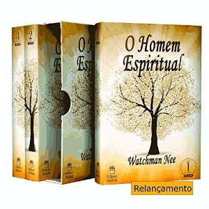 Box 3 Livros | O Homem Espiritual | Watchman Nee