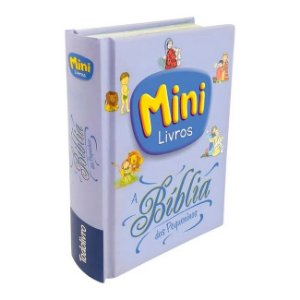 MINI Livros - A Bíblia dos pequeninos
