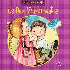 PORÇÕES ESPECIAIS DA BÍBLIA OS DEZ MANDAMENTOS
