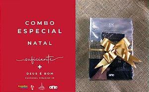 COMBO ESPECIAL NATAL | SUFICIENTE + DEUS É BOM