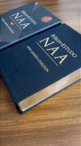 LANÇAMENTO | BÍBLIA DE ESTUDO NAA | EDIÇÃO ESPECIAL em COURO LEGÍTIMO
