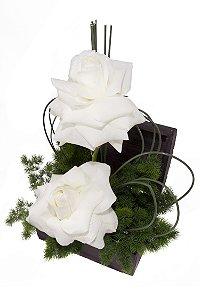 Arranjo de Flores Delicado e puro