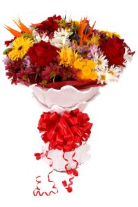 Buquê de Flores Lindo Tropical