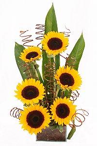 Arranjo de Flores Dia iluminado