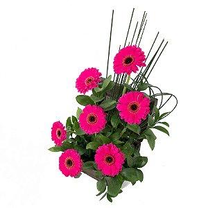 Arranjo de Flores Carinho e sorriso