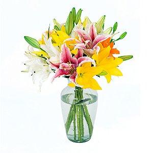 Buquê de Flores Alegria de Lírios