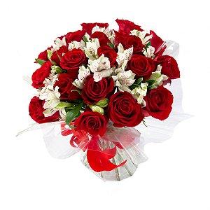 Buquê de Flores Buquê de flores ESPECIAL de rosas vermelhas