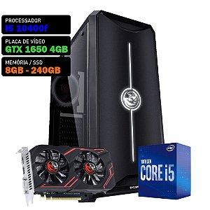 COMPUTADOR KADIN GAMER I5 10400F / GTX 1650 4GB / 8GB DDR4 / SSD 240GB / 500W 80+ / NOVA