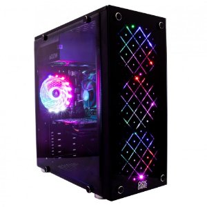 GABINETE VORTEX GH100 C/ 4 FAN RGB OEX GAME
