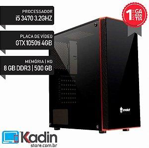 COMPUTADOR I5 3470 3.20GHZ / 8GB / GTX1050TI 4GB /  HD 500GB