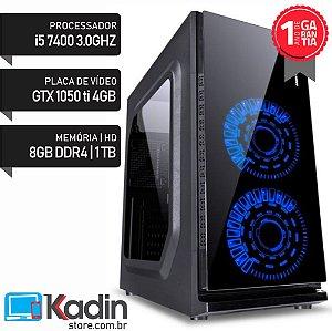 COMPUTADOR I5 7400 3.0GHZ / 8GB DDR4 / GTX1050TI 4GB / HD 1TB