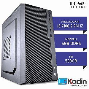 COMPUTADOR I3 7100 2.9GHZ / 4GB DDR4 / HD 500GB