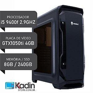 COMPUTADOR I5 9400F / GTX1050ti 4GB / 8GB DDR4 / SSD 240GB