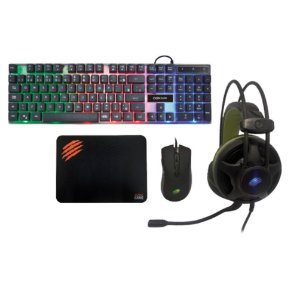 KIT ARGOS 4X1 HEADSET, TECLADO, MOUSE E MOUSEPAD TM304 OEX GAME