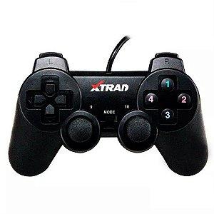 CONTROLE JOYSTICK PC USB XD-321 XTRAD