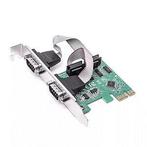 PLACA PCI EXPRESS SERIAL 02 PORTAS KP-T89 KNUP