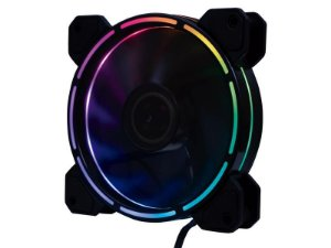 COOLER FAN 120MM 12 LEDS RAINBOW F40 OEX GAME
