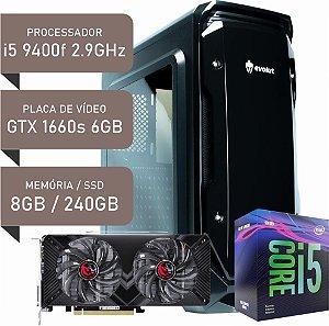 COMPUTADOR I5 9400F / GTX 1660 SUPER 6GB / 8GB DDR4 / SSD 240GB