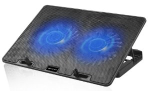 SUPORTE BASE COM 2 COOLER PARA NOTEBOOK  C3TECH - NBC-50BK