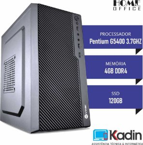COMPUTADOR KADIN PENTIUM G5400 8GER / 4GB DDR4 / SSD 120GB