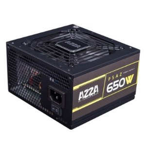 FONTE REAL AZZA  650W 80 PLUS BRONZE