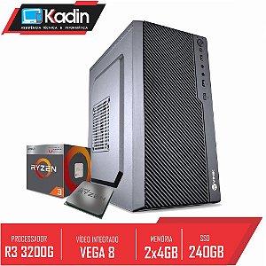 COMPUTADOR KADIN RYZEN 3 3200G / 8GB DDR4 / SSD 240GB