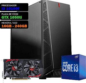 COMPUTADOR KADIN GAMER i3 10100F / GTX 1050ti 4GB / 16GB DDR4 / SSD 240GB / 500W 80+ / DANDY