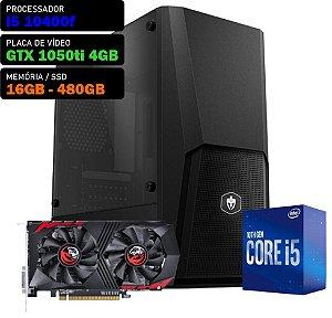 COMPUTADOR KADIN GAMER I5 10400F / GTX 1050TI 4GB / 16GB DDR4 / SSD 480GB / 550W 80+ / BLAST