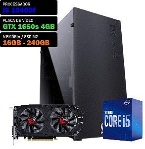 COMPUTADOR SKUL GAMER I5 10400F 2.9GHZ, GTX 1650 SUPER 4GB, 16GB DDR4, SSD M.2 250GB, 500W, TERRA
